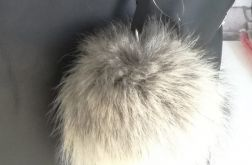 Pompon - brelok futrzany do torebki