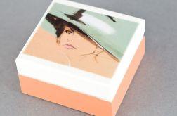 "Pudełko MINI ""Dama w kapeluszu"""