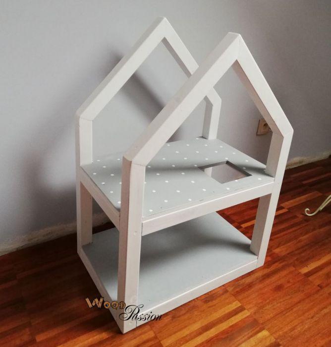 Domek dla lalek - styl skandynawski