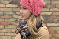 bezszwowa czapka z bawełny