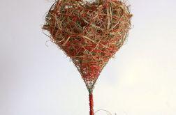 Serce z trawy