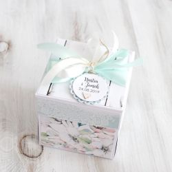 Pudełko - exploding box -ślub 6