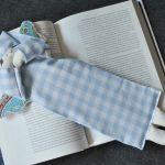 Zakładka do książki - anioł w kolorze niebieskim