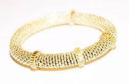 Elegancka złota bransoletka
