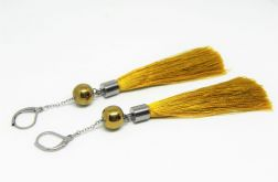 BOHO GOLD - długie kolczyki