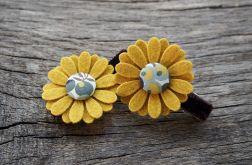 Spinki do włosów kwiatki JESIEŃ 2