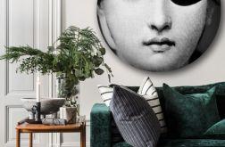 Fornasetti - Lina - Obraz w okrągłej ramię