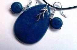 Lapis lazuli i piryt, elegancja biżuteria w srebrze