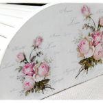 Drewniany chlebak ~Róże~