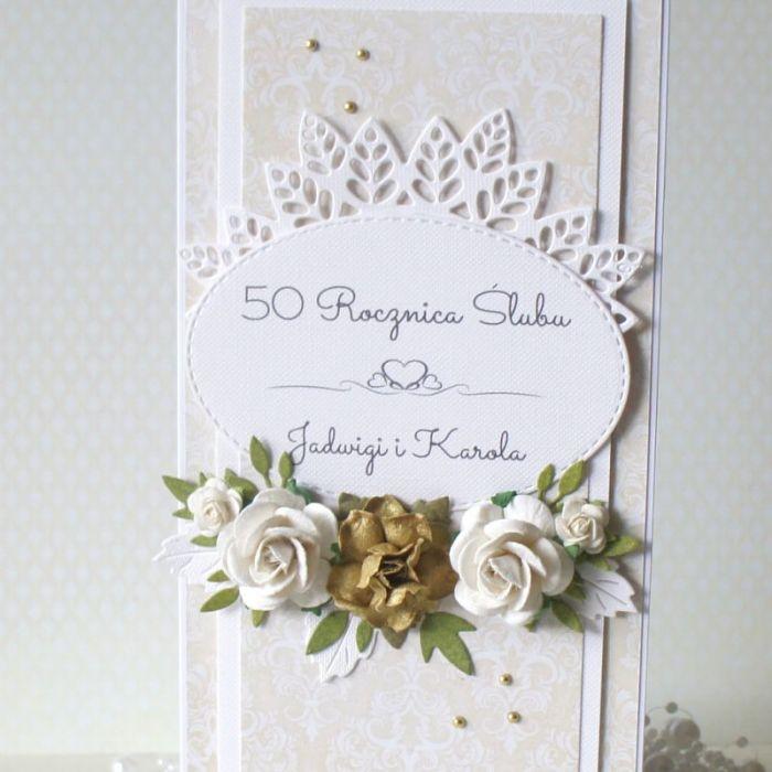 Złote Gody - 50 rocznica ślubu v.6 - dl-50b