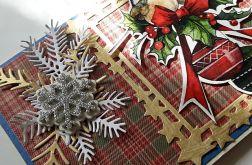 Kartka, kopertówka, Boże Narodzenie