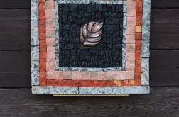 Dekor ścienny - Jesienny liść