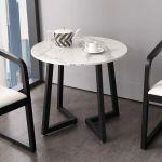 Stolik marmurowy Carrara Round 60'63