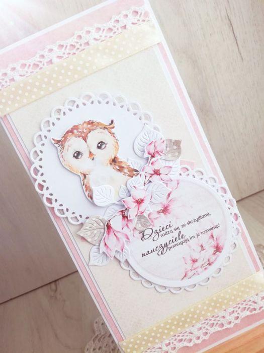 Kartka w kopercie dla nauczyciela 2 GOTOWA -
