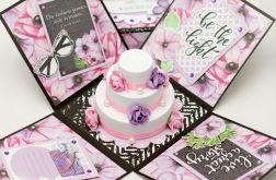 Kobiecy Exploding box urodzinowy EKSPRES