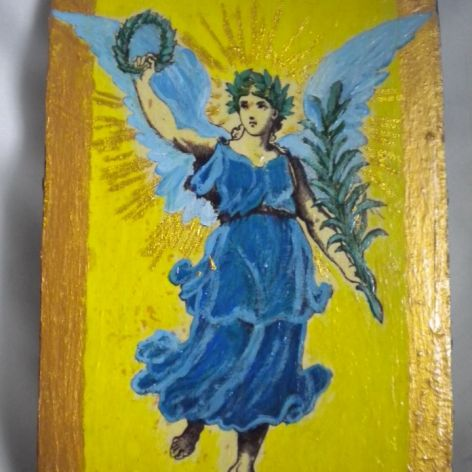 Anioł z gałązką palmową -posłaniec