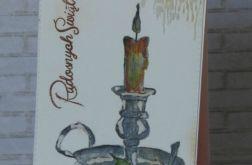 167. LAMPION świąteczny
