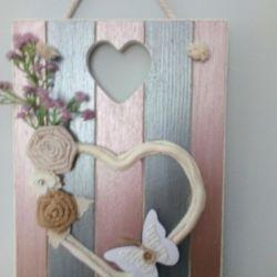 Romantyczna  zawieszka  z sercem