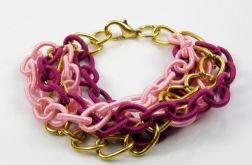 Różowy łańcuch