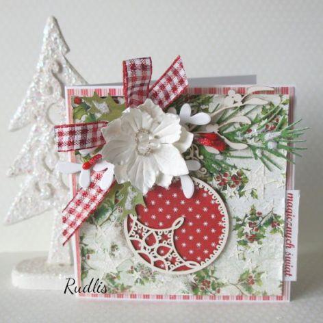 Kartka świąteczna Magicznych Świąt v.5