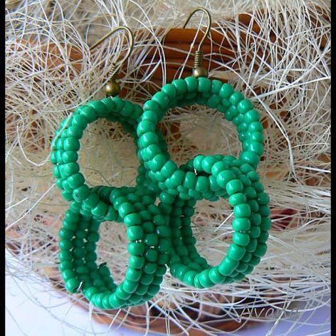 Podwójne koła na zielono
