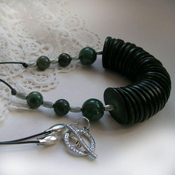 W zieleni - naszyjnik