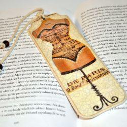 Zakładka do książki- Moda z Paryża