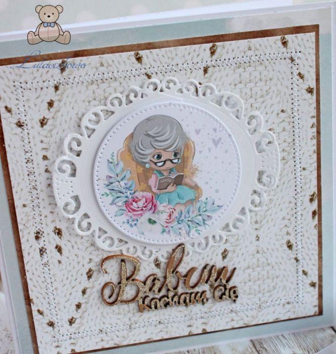 Kartka na Dzień Babci Grannie 2 GOTOWA
