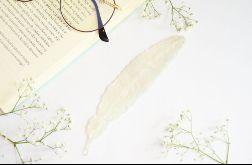 Zakładka do książki Piórko - miętowa perła