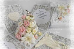 Ślubny box z tortem #2