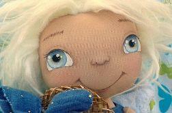 ANIOŁEK lalka - dekoracja tekstylna, OOAK/32