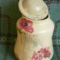 pojemnik anemony na sypkie produkty