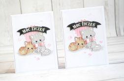 Uniwersalna kartka ze słodkimi kociakami