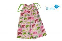 Woreczek na obuwie, ubranie - Słonie by Birdie