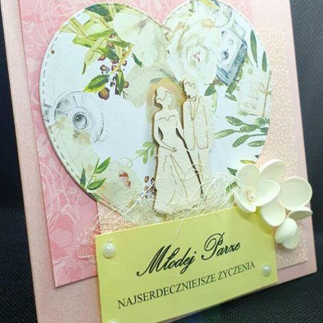 Kartka ślubna #3