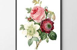 Plakat obraz flowers 50X70 B2