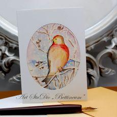 Karnet malowany ręcznie -Akwarela Nr 7-