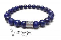 Lapis lazuli - bransoletka męska