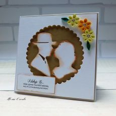 Kartka ślubna para 4