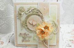 W dniu Ślubu- kartka w pudełku KŚ1