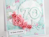 Kwiecista kartka urodzinowa KU065