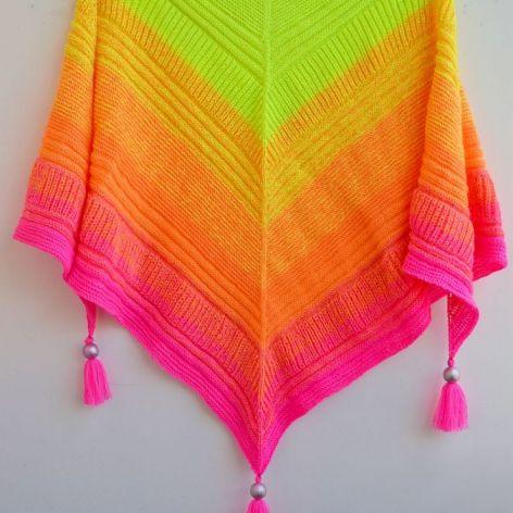 Neony są w modzie :)  szałowa chusta ;)
