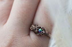 Elda - pierścień z karneolem