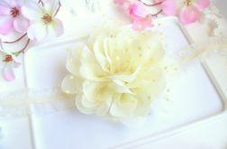Nomma Opaska niemowlęca CHRZEST kwiat