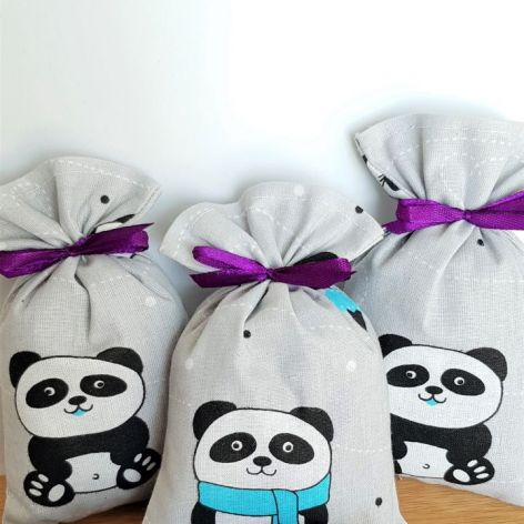 Woreczek z lawendą dla dzieci - Panda
