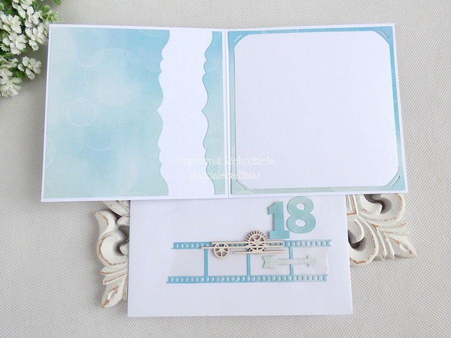 Kartka na 18 urodziny w kopercie 137 -