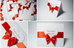 Zaproszenie Ślubne z serduszkiem