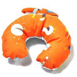 poduszka podróżna rogal Circus orange