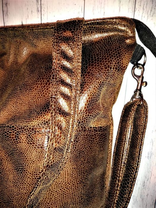 Torebka damska torba eko wąż