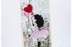 I LOVE PARIS - KARTKA OKOLICZNOŚCIOWA